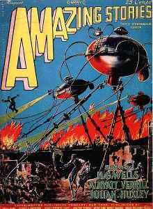 Amazing stories war of the world