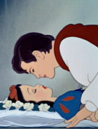 kiss snow white