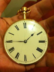 Teddy's Gold Watch - Made in 1810