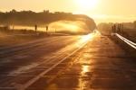 road morning