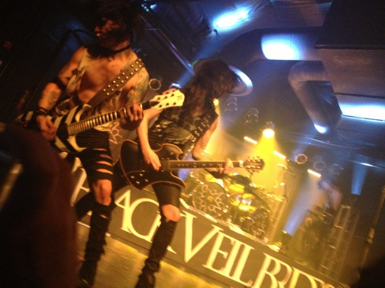 Black Veil Brides Church of the Wild Ones Tour - Sacramento, CA