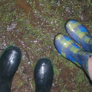 our boots