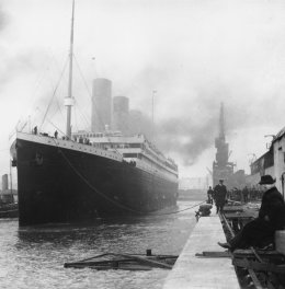 The Titanic – Bon Voyage and Words to Welcome itHome.