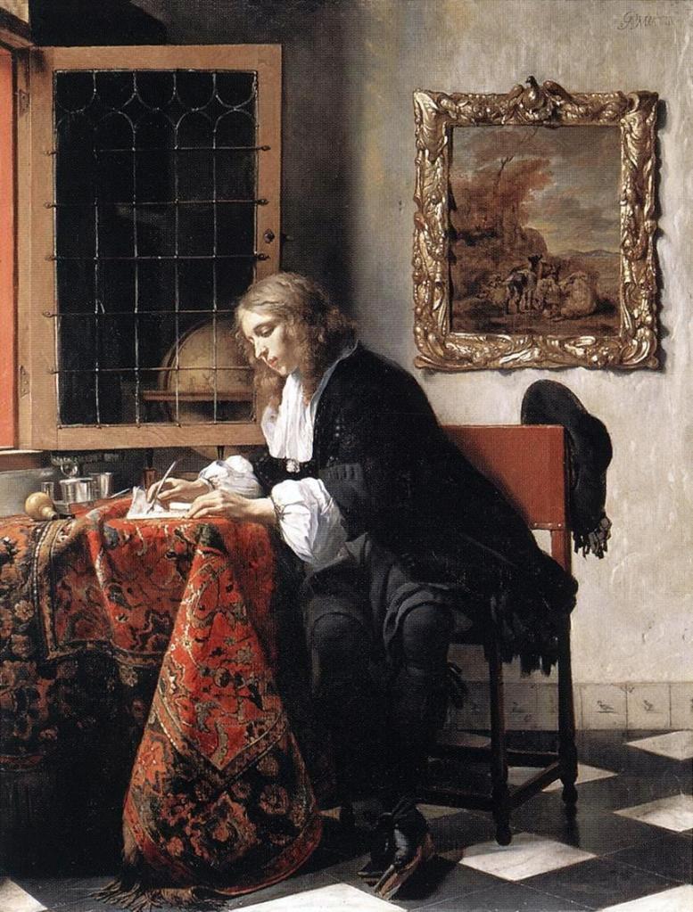 Gabriel_Metsu_-_Man_Writing_a_Letter