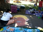 Chalk It Up: Labor Day Weekend, 2013, Freemont Park, Sacramento, CA