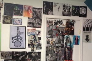 A small portion of The Wall of Beautiful Men