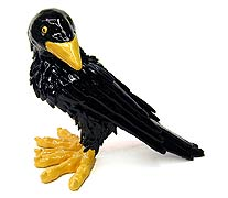 My favorite crow, by ceramic artist Eric Dahlin