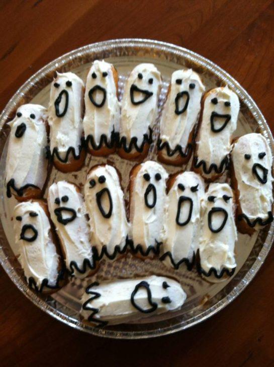 TWEENKIE GHOSTIES FOR HALLOWEENIE! ONLY EAT IF YOU DARE! BOOOOOOO