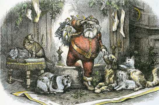 All Animals Love Santa