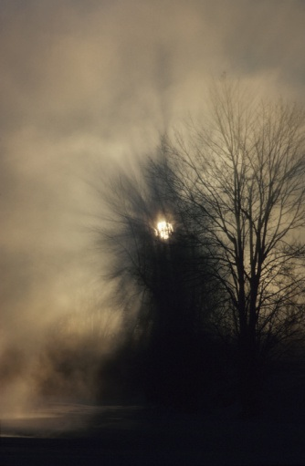 VM_ foggy moon