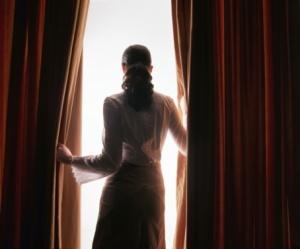 Juliette by the window
