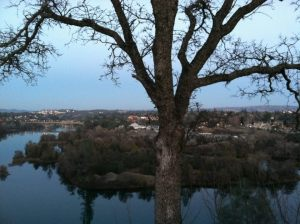 Lake Natoma as twilight (from the Vampire's little magic phone box)
