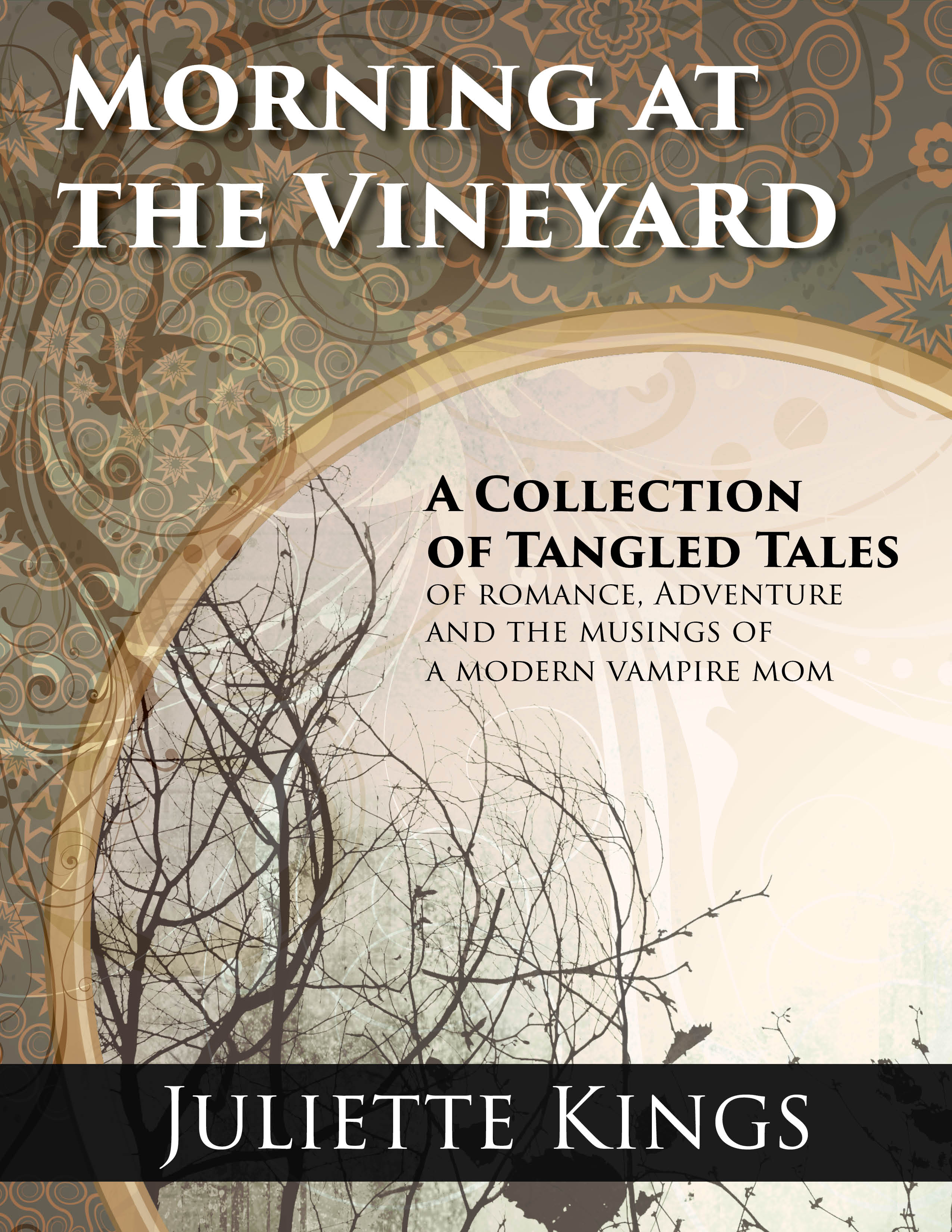 Morning At The Vineyard Now Available On Amazon (and Tell The Folks At