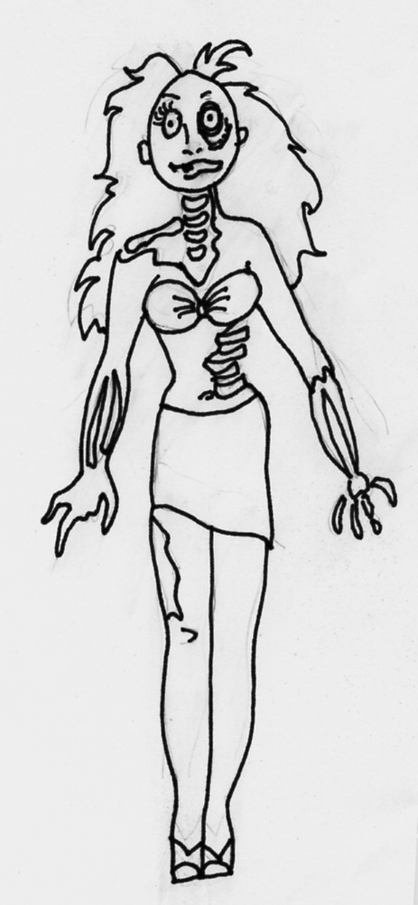 zombie_girl doll