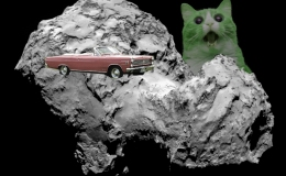 Cat-ur-day: Comets, Giant Space Cats and Vampires in Space