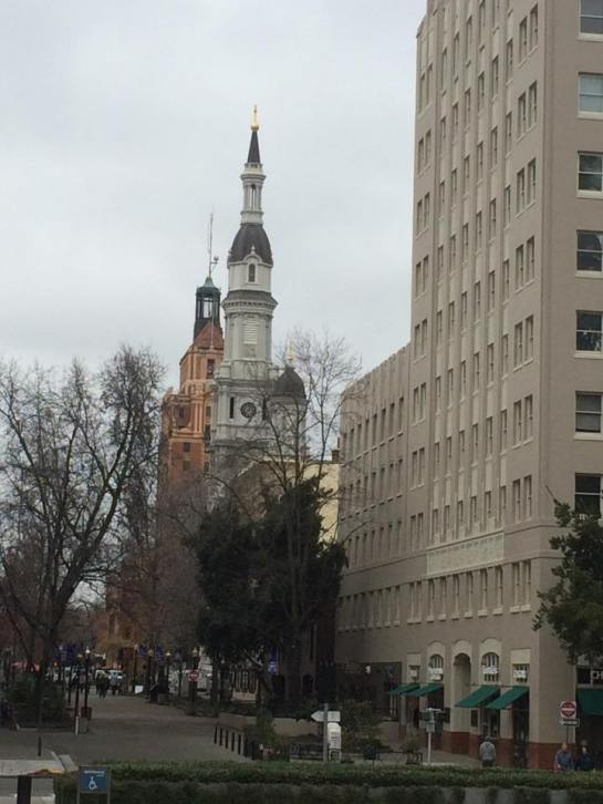 Downtown Sacramento from the Capitol Building