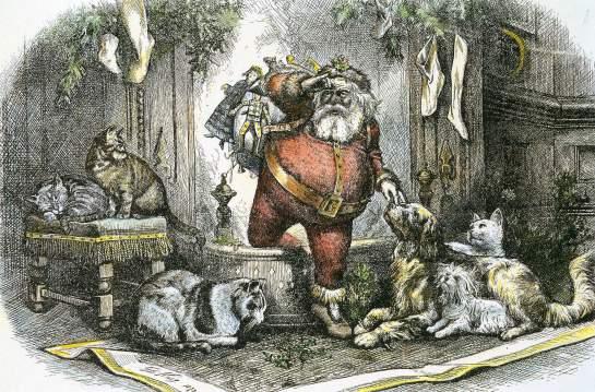 All Animals Love Santa