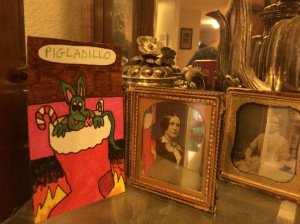 Pigadillo shares a place of honor with old friends