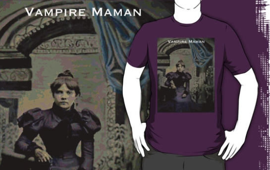 %22Vampire Maman - Juliette%22 T-Shirts & Hoodies by marlatoddkings | Redbubble-6