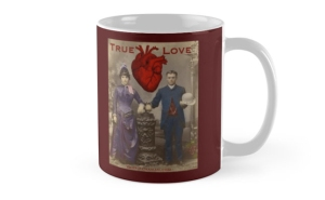 %22True Love - your beating heart%22 Mugs by marlatoddkings | Redbubble-6