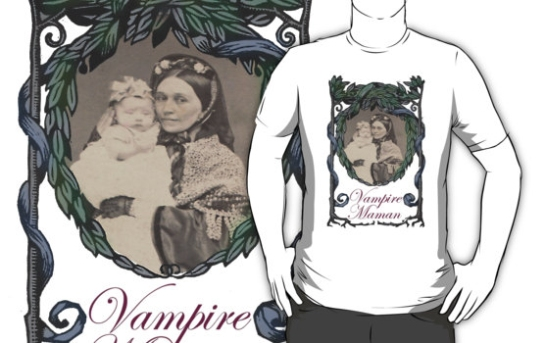 %22Victorian Vampire Maman with Baby%22 T-Shirts & Hoodies by marlatoddkings | Redbubble-6