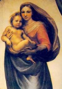 Raphael could paint both women and babies.