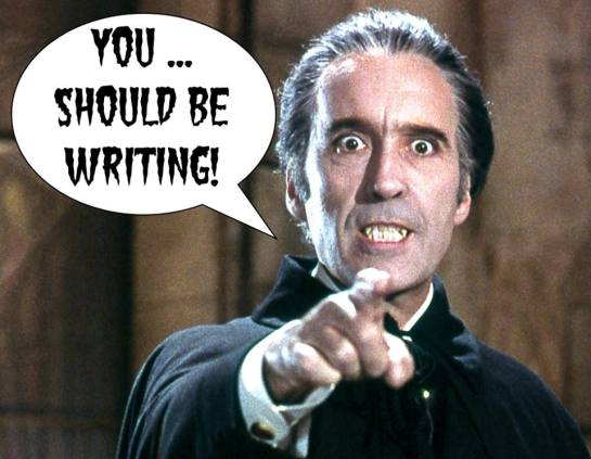 Write ALL THINGS VAMPIRE
