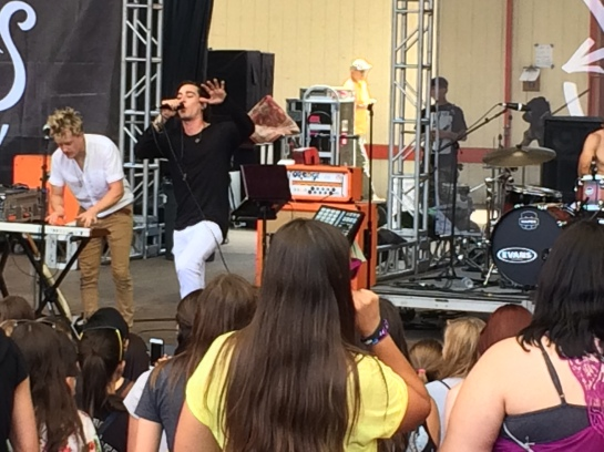 Night Riots at 2015 Warped Tour - Mountain View, CA. Yes, I was there. It was awesome. I am the coolest mom ever.