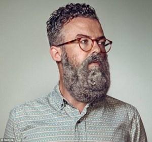 Hipster Squirrel Beard