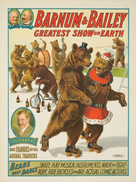 Dude, dancing bears. I have this poster in my house. The real one.
