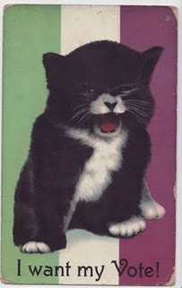 Pre 1920 Cat Meme. Seriously, I kid you not. Cat memes aren't new. People have been creating them since ancient times. Think about it.
