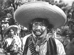 """""""We don't need no stinkin word count."""" Yes, this is the brilliant actor Alfonso Bedoya and I bet he didn't count his words either. Yes, this is from the 1948 Movie The Treasure of the Sierra Madre."""