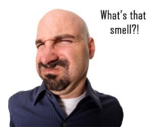 stinky smell