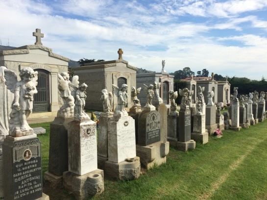 Children's Area Italian Cemetery, Colma, CA