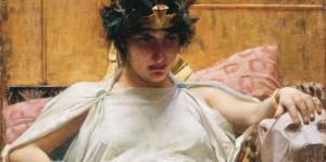 Cleopatra by Waterhouse