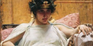 Cleopatra by Waterhouse