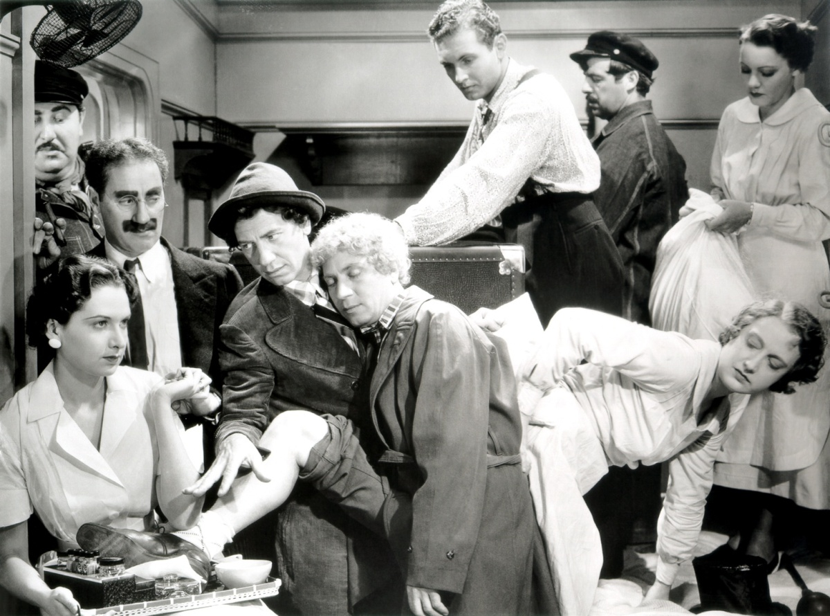 Personal hygiene, Vampire Hunters and Real Friends…and don't forget the Marx Brothers