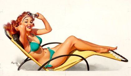 Summer Pinup