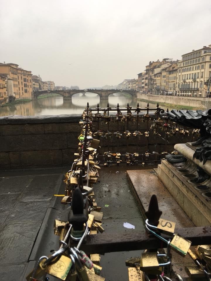 Florence Italy Lover's Bridge