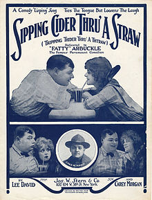 Sheet_music_cover_-_SIPPING_CIDER_THRU'_A_STRAW_=_THIPPING_THIDER_THRU'_A_THTRAW_(1919)