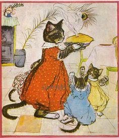 8f932a2be12688ae5d68ffa7f0f06b98--cute-pets-vintage-cat