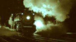 A Christmas Journey (with Vampires, a cat, a train ride and afight)