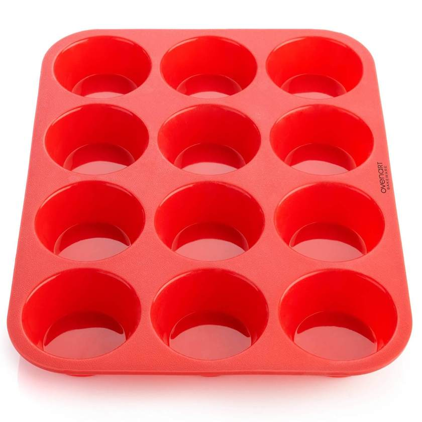 Red Muffin Tin